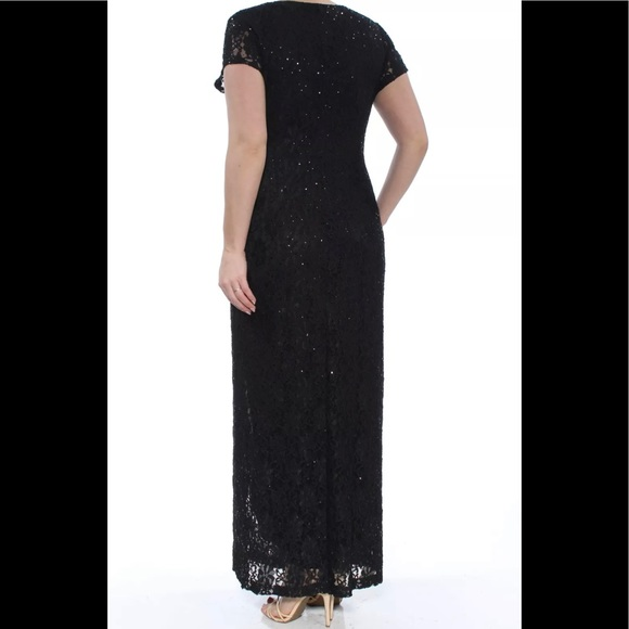 Formal Dress Plus Size 14W Black Tie Connected NEW Boutique